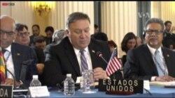 Sec. de Estado de EE.UU. pide suspender a Venezuela en la OEA