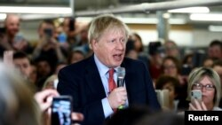 Прем'єр-міністр Борис Джонсон закликає віддати голоси за його Консервативну партію