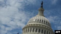 美國國會大廈圓頂。