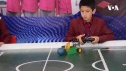 نمایشگاه روباتیک و پروژه های ساینس دانش آموزان