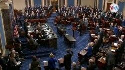 """Senado y Casa Blanca esperan juicio """"rápido"""""""