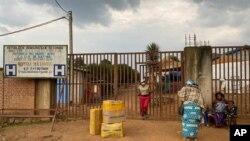 지난 2월 21일, 올해 처음 코로나 확진 사례가 나온 아프리카 콩코의 마탄다 병원.