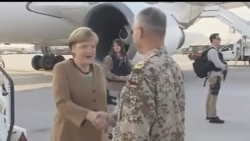 2013-05-10 美國之音視頻新聞: 德國總理默克爾訪問阿富汗
