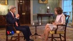 جان کری: تاثیر کاهش تحریم های ایران ممکن است طی ۶ ماه احساس شود