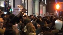 Miles protestan en Nueva York