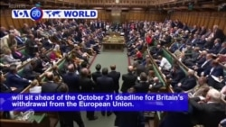 VOA60 World - Britain's Johnson Accused of Mounting a Brexit Coup