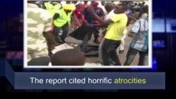 Học từ vựng qua bản tin ngắn: Atrocities (VOA)