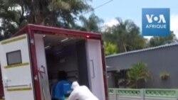 Afrique du Sud: Une unité spéciale transporte les patients Covid