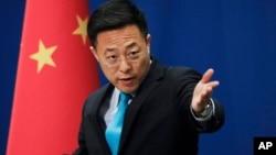 中國外交部發言人趙立堅。