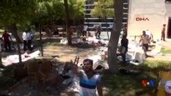 2015-07-21 美國之音視頻新聞:土耳其自殺爆炸 至少31人喪生
