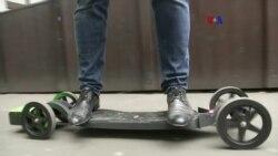 Patineta 3D motorizada