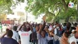 Manifestasyon an Favè Prezidan Jovenel Moïse sou Wout Frè, Petyon Vil