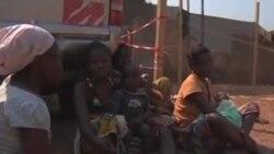 中非幾乎1百萬人流離失所