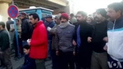 حضور دراویش گنابادی مقابل اوین در اعتراض به بازداشتها