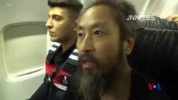 在敘利亞被扣押三年多的日本記者獲得自由