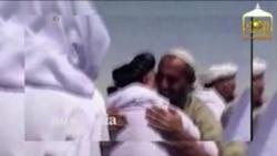 Recibimiento de prisioneros talibanes