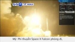 SpaceX đạt thành quả lịch sử trong vụ phóng hỏa tiễn (VOA60)