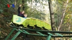 Amusement Park Touts First People-Powered Roller Coaster