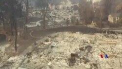 2018-11-19 美國之音視頻新聞: 加州大火致77人喪生近千人下落不明