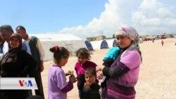Zarokên Efrînî yên Derbider Bin Şertên Dijwar Jîyana Xwe Didomînin