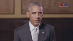 Obama Fransızlara Seslendi