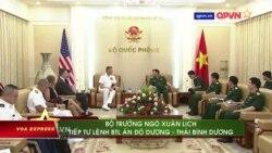 Đô đốc Mỹ Davidson thăm VN: 'Tàu sân bay sẽ đến Khánh Hòa vào tháng 9'