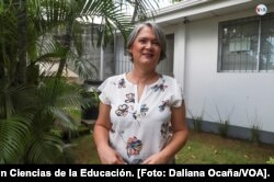 Josefina Vigil, Doctora en Ciencias de la Educación. [Foto: Daliana Ocaña/VOA].