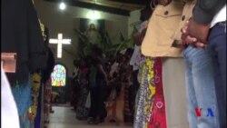 A Goma le chef de l'église catholique a appelé les chrétiens à célébrer le 31 décembre (vidéo)