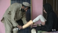 12-Year-Old Afghan Girl Loses Both Legs to Land Mine