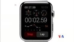 2014-09-10 美國之音視頻新聞: 蘋果智能手錶和新一代手機亮相