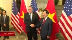 Ngoại trưởng Việt-Mỹ điện đàm