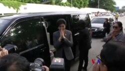 泰國前總理據稱生病最高法院推遲宣判(粵語)