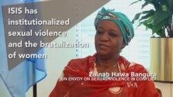 UN Envoy Decries Islamic State Abuse of Women