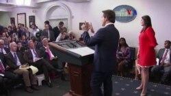 Anthony Scaramuchi se despide de la Casa Blanca