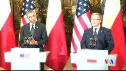 2014-06-03 美國之音視頻新聞: 奧巴馬總統訪歐、建議加強美歐軍事合作