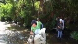 Чистење на река како годишен настан