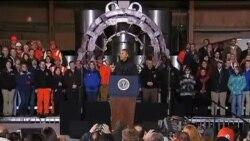 奥巴马向美国劳工传达信息