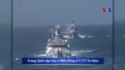 Trung Quốc đang đóng tàu tuần tra lớn 'đe dọa' Biển Đông