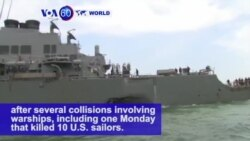 VOA60 World - The U.S. Navy has dismissed Vice Admiral Joseph Aucoin, commander of the 7th Fleet