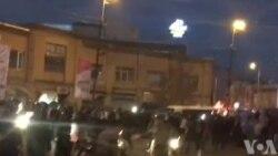 فیلمی از حمله مردم به نیروی انتظامی در شهر زنجان