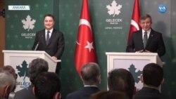 Davutoğlu ve Babacan Birlikte Erdoğan'ı ve Sistemi Eleştirdi
