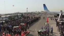 朝聖期間喪生的首批伊朗公民遺體被運回國