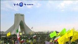 VOA60 DUNIYA: IRAN Shugaba Hassan Rouhani Yana Jawabi Ga Jama'a A Tehran A Bikin Tunawar Da Ranar Juyin Juyi Halin 1979, Fabrairu 11, 2016