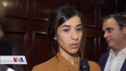Nadia Murad: Ev Xelat bo Hemî Qurbanîyên Tundîya Seksî Ye