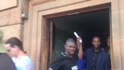 Mthwakazi Republic Party Members in Jovial Mood After Release of Arrested Colleagues