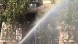 加州南部清真寺起火 警方懷疑是故意縱火