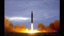 北韓稱發射導彈是回應美韓軍演