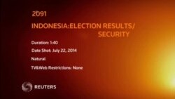 2091AS INDONESIA ELECTION RESULTS SECURITY