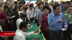 VN, TQ chúc mừng bầu cử Campuchia trong khi thế giới lên án