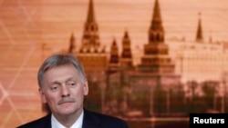 Dmitry Peskov ni we muvugizi wa Perezida w'Uburusiya Vladimir Poutine